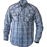 Men's Armachillo Western Long Sleeve Shirt MBLPLAD