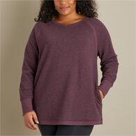 Women's Plus Ooh-La-Loop French Terry Tunic ELDRBR