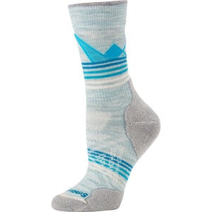 Women's Smartwool PhD Outdoor Light Pattern Crew Socks