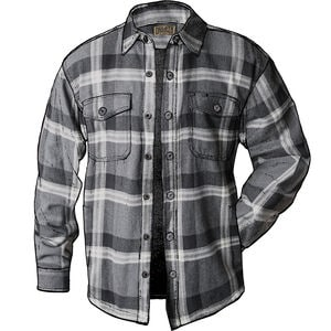 Men's Flapjack Fleece-lined Relaxed Fit Shirt Jac