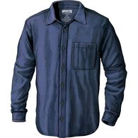 Men's No Polo Long Sleeve Button Down Shirt ABYSBL