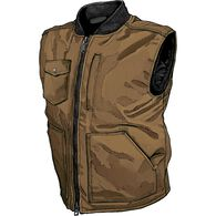 Men's Superior Fire Hose Insulated Vest BROWN 2XL