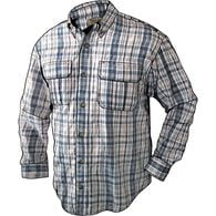 Men's Armachillo Cooling Long Sleeve Plaid Shirt O