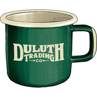 Duluth Trading Camp Mug GREEN