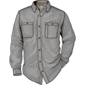 Men's Kennesaw Relaxed Fit Long Sleeve Shirt