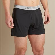 Men's Breezeshooter Boxers BLACK LRG