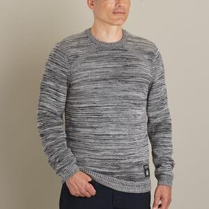 Men's AKHG Wateroff Merino Crew Sweater