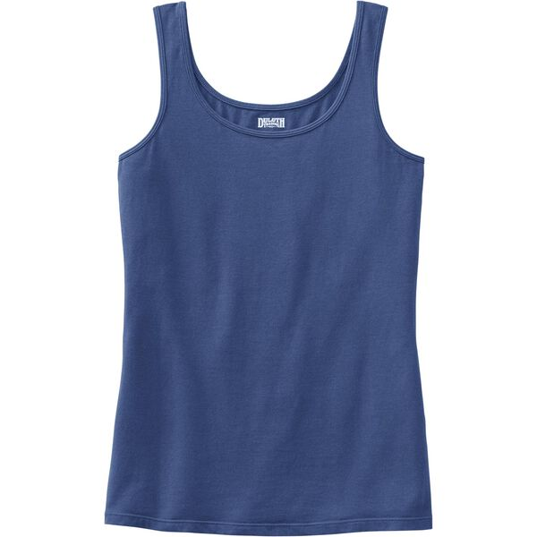 Women's Plus No-Yank Scoop Neck Tank