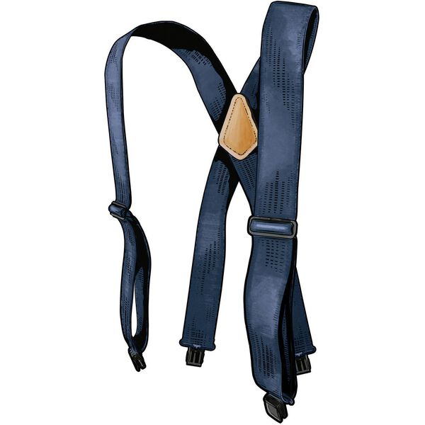Men's Duluth Trading Tall Clip Suspenders NAVY