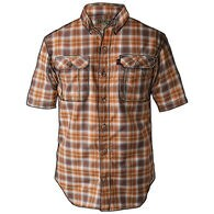 Men's Breezeshooter Short Sleeve Plaid Shirt
