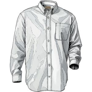 Men's Wrinklefighter Relaxed Fit Solid Shirt