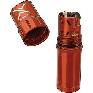 TitanLIGHT Refillable Waterproof Lighter ORANGE