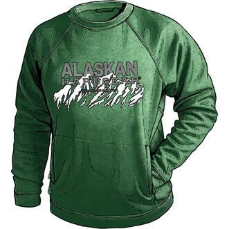 Men's Alaskan Hardgear Blue Lake Crew Pullover