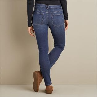 Women's Daily Denim Skinny Leg Jeans