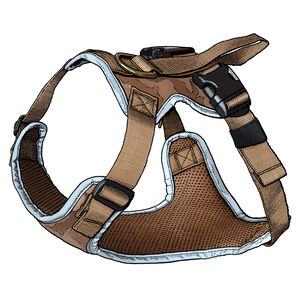 Fire Hose Dog Harness