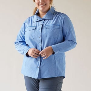 Women's Plus Sol Survivor Sun Protection Shirt Jac
