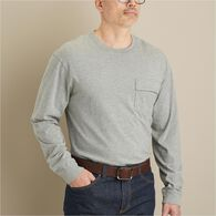 Men's Spillfighter Long Sleeve Crew with Pocket WH