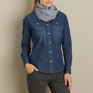 Women's Double Soft Convertible Scarf