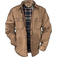 Men's Fire Hose Flannel-Lined Limber Jac BROWN LRG