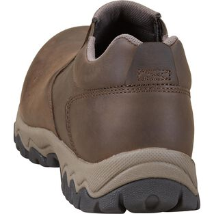 Men's Wild Boar Leather Smooth Toe Mocs