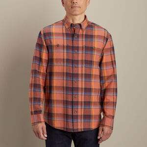 Men's Free Swingin' Flannel Untucked Shirt