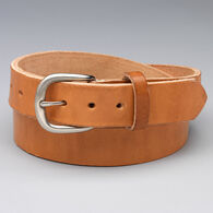 Men's Leather Beefy Belt LIGHTAN 034