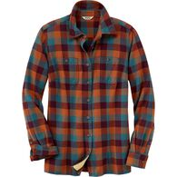 Women's Free Swingin' Flannel Shirt CDBFCHK XLG