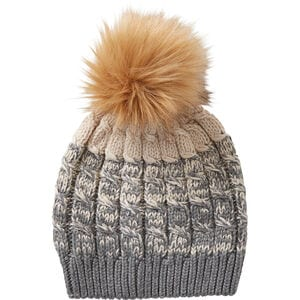 Women's Removable Pom Hat