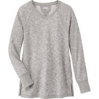 Women's Plus Ooh-La-Loop French Terry Tunic GRAYHE