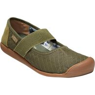 Women's KEEN Sienna Quilted Mary Janes OLIVE 6.5 M