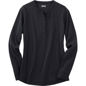 Women's Plus Longtail T Long Sleeve Henley