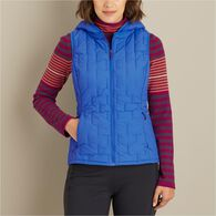 Women's Agiloft Hooded Vest DEEPJAD SM