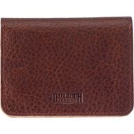 Women's Lifetime Leather Accordian Wallet COGNAC