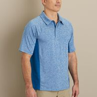 Men's Breezeshooter Polo BLUHTHR MED