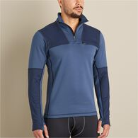 MN AHG Boundary Range Base Layer 1/4 Zip Shirt BLA