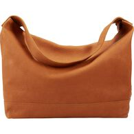 Lifetime Leather Slouch Bag COGNAC