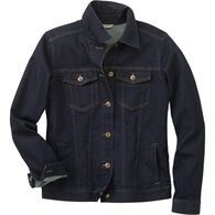 Women's Plus Daily Denim Jacket