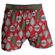 Men's Buck Naked Performance Pattern Boxers