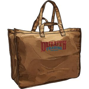 Duluth Trading Company Logo Printed Bag