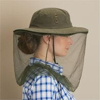 Women's No Bug Bucket Hat OLIVE SM