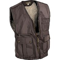 Men's Iron Range Fire Hose Lined Vest COFFEE MED R
