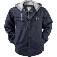 Men's Fire Hose Flannel-Lined Hooded Limber Jac DA