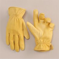 Men's Roper Gloves STRAW MED
