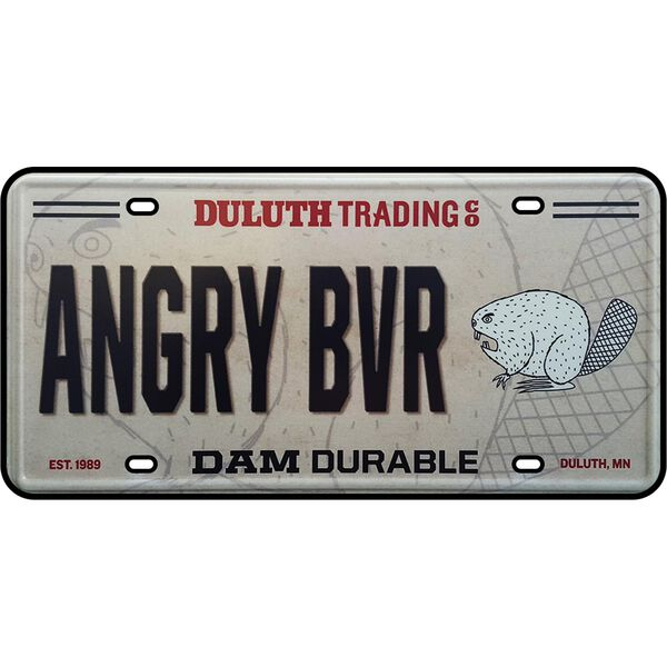 Duluth Trading Logo License Plate