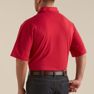 Men's Longtail Jersey Polo