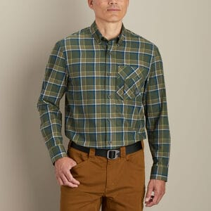Men's AKHG Midnight Sun Flannel Standard Fit Shirt