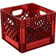 Milk Crate RED