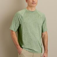 Men's Breezeshooter Crew T-Shirt BLUHTHR MED