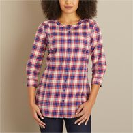 Women's Free Range Cotton 3/4 Sleeve WNEBTKA XSM