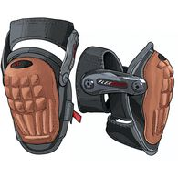 Hinged Ultra Comfort Knee Pads BLACK